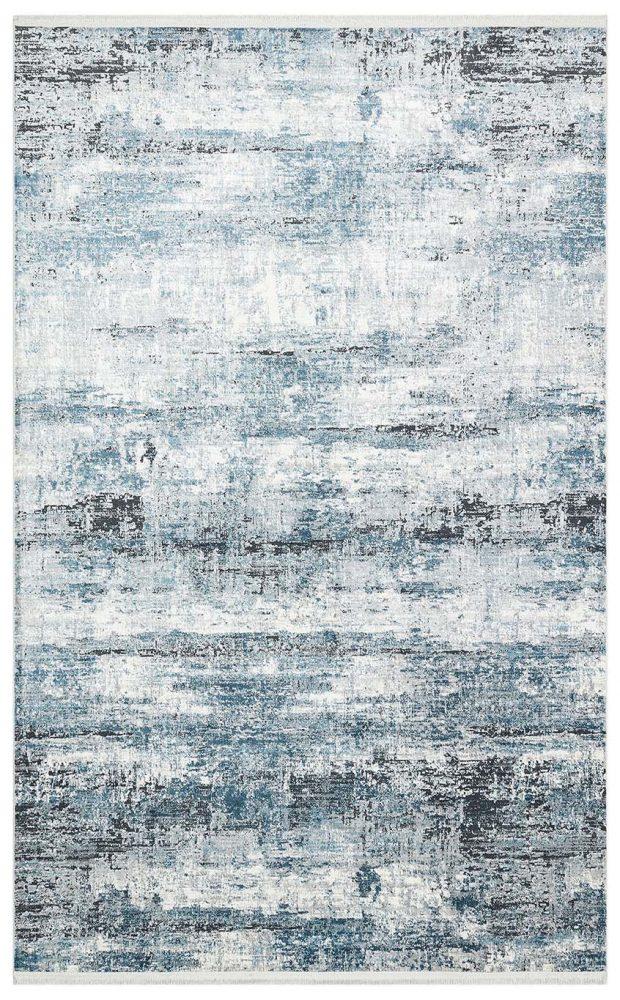 שטיח אבסטרקט כחול