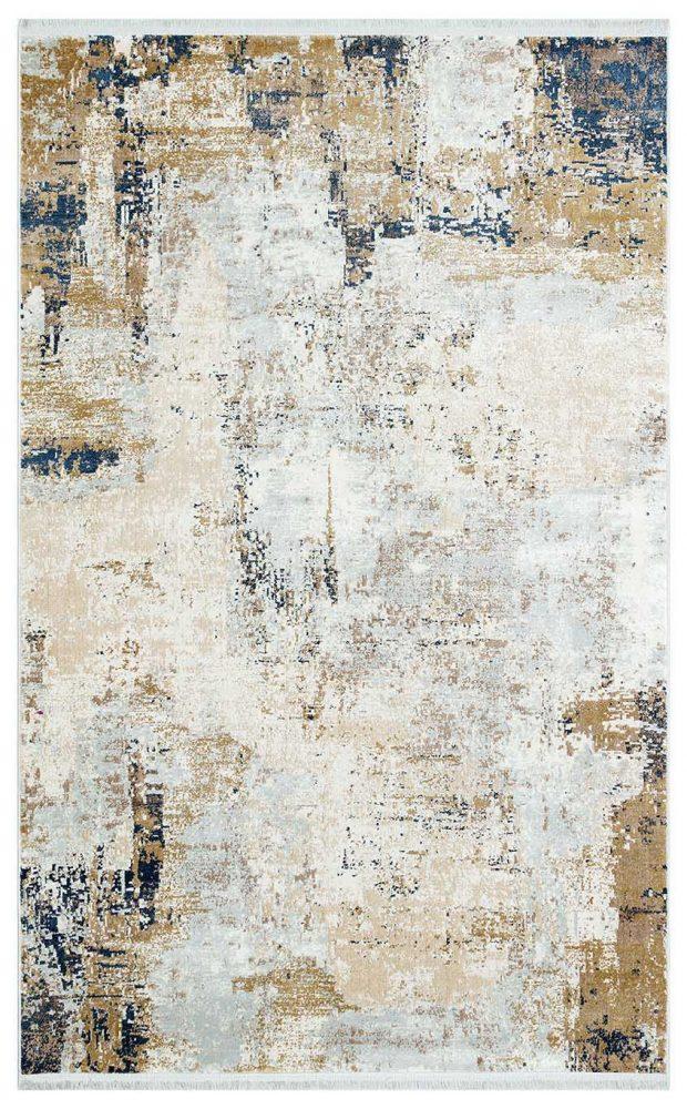 שטיח מודרני אבסטרקט גולד