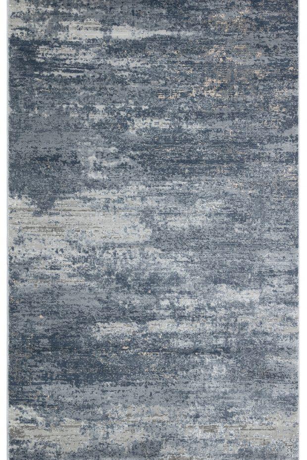 שטיח מודרני אפור כחול