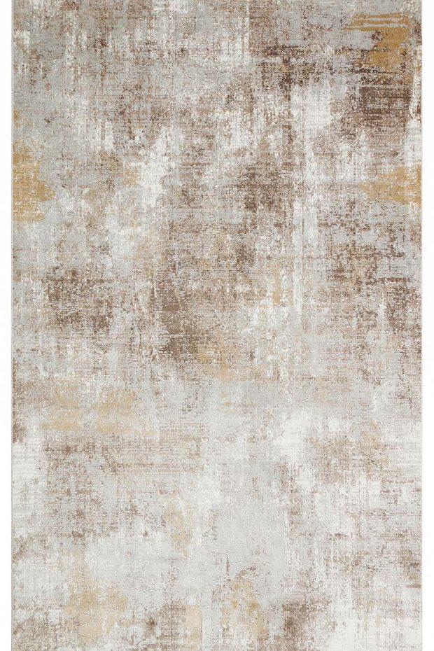 שטיח אבסטרקט זהוב
