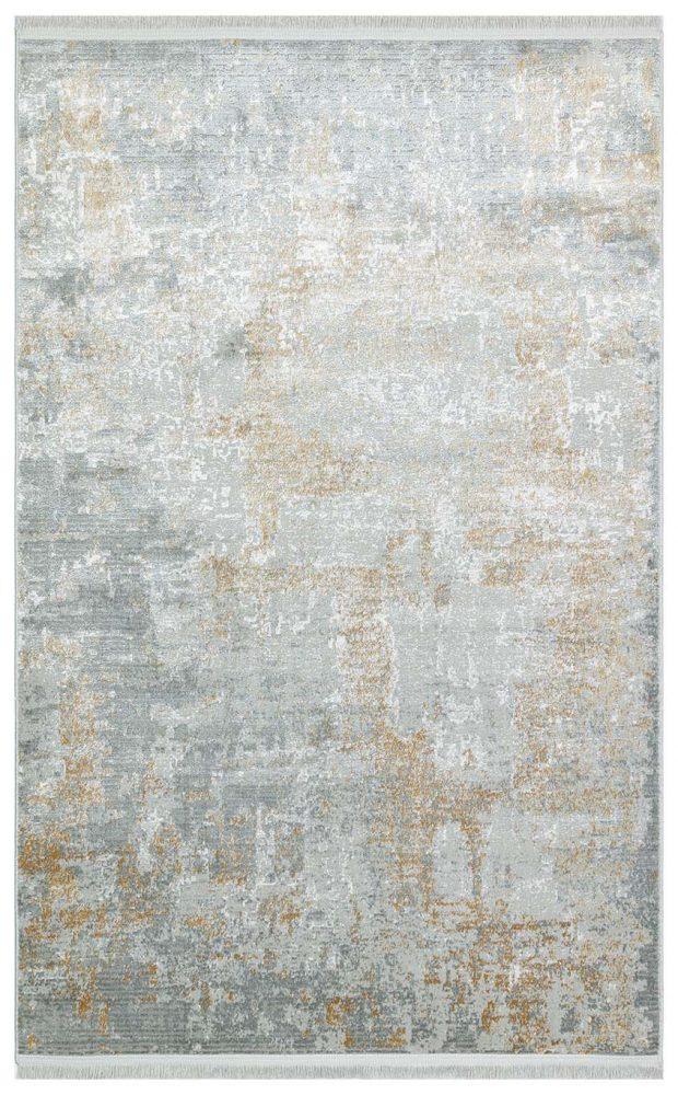 שטיח אפור זהב