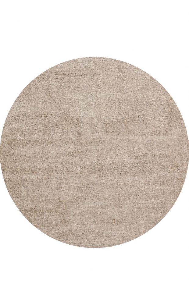 שטיח עגול בז׳