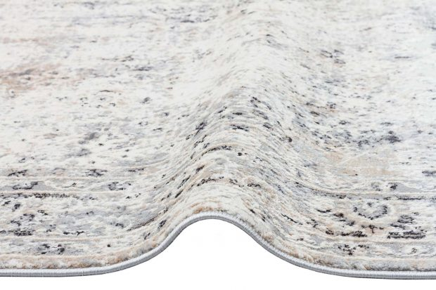 שטיח שמנת אפור קלאסי