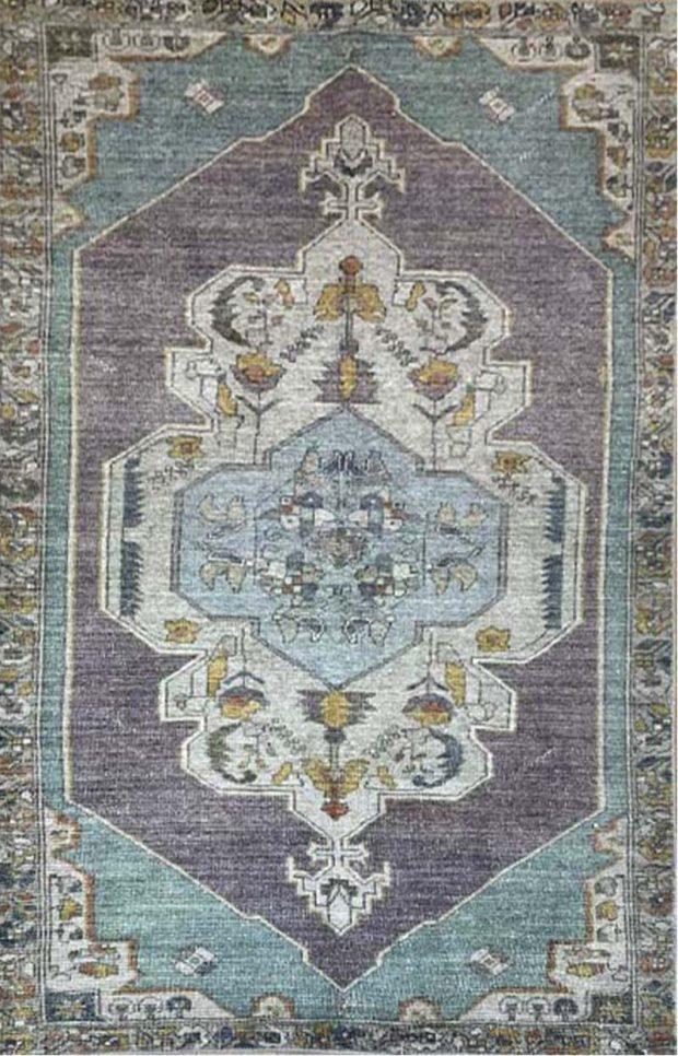 שטיח סגול