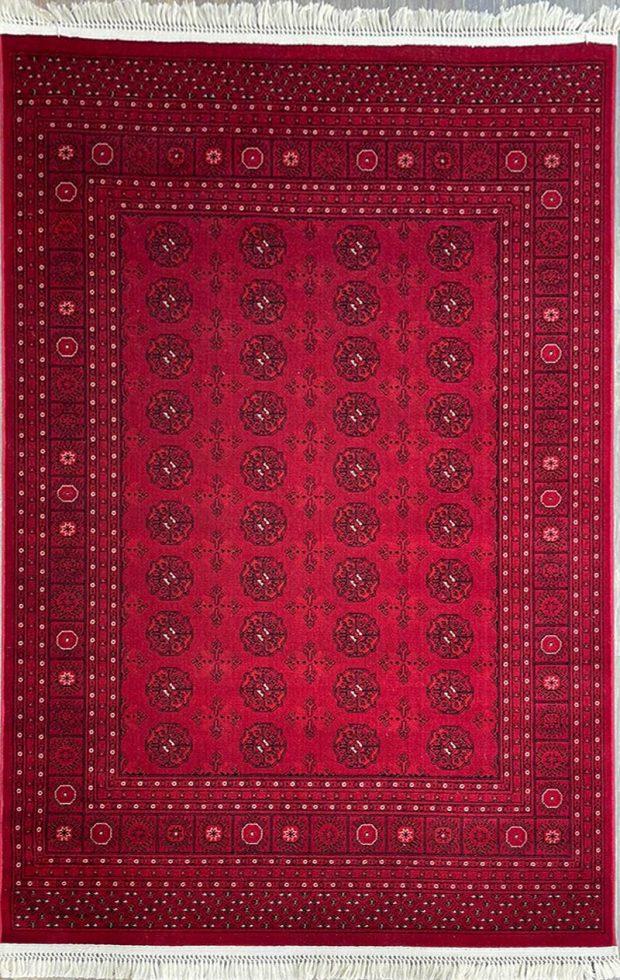 שטיח אפגני אדום