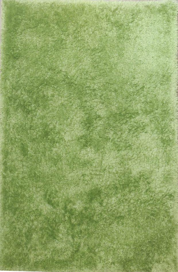 שטיח שאגי ירוק