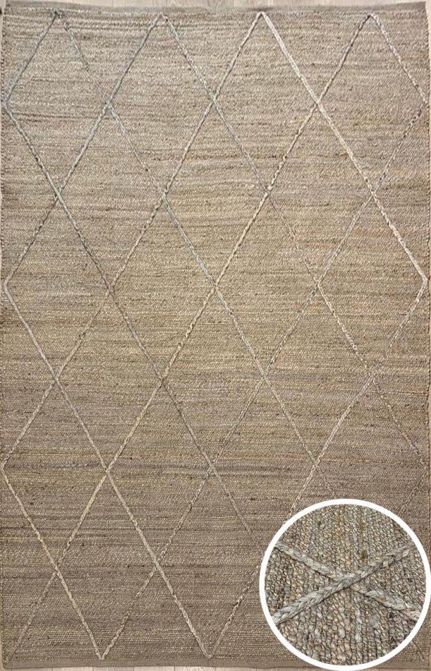 שטיח חבל מעויינים