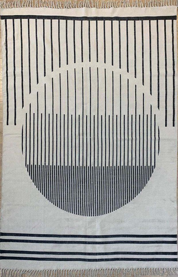 שטיח קילים כותנה עיגול גדול
