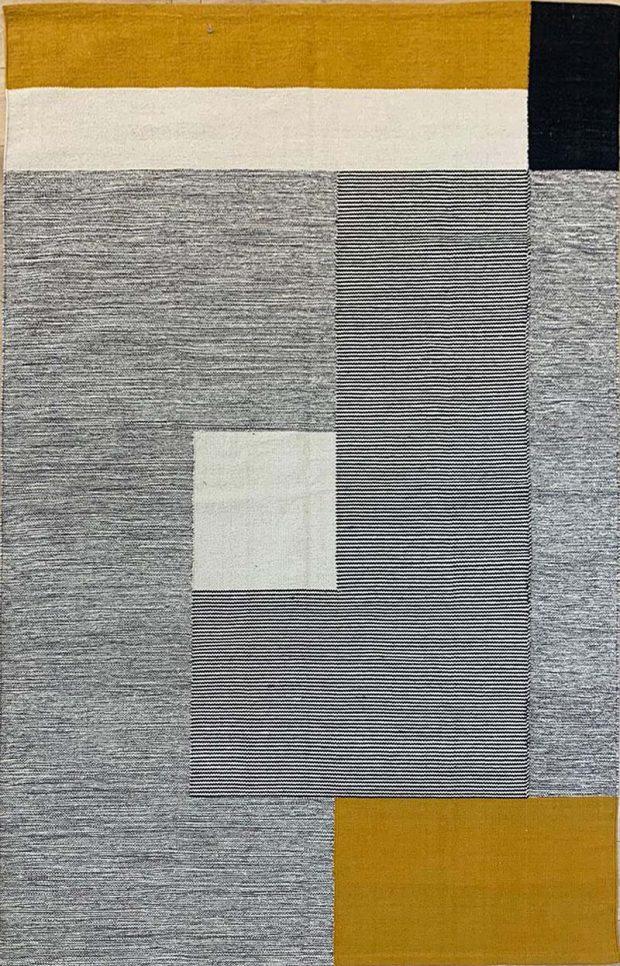 שטיח כותנה חרדל