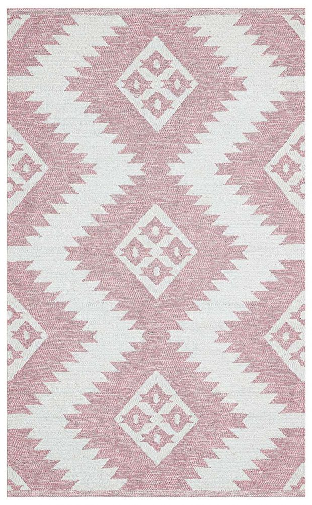 שטיח כותנה ורוד