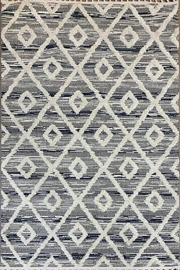 שטיח מרוקאי אפור