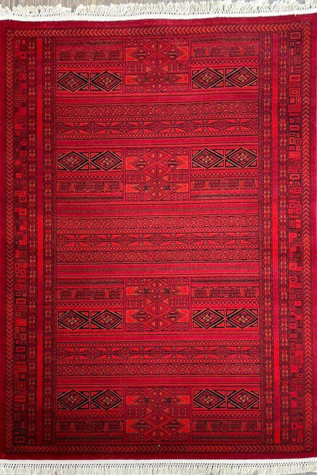 שטיח אפגן אדום
