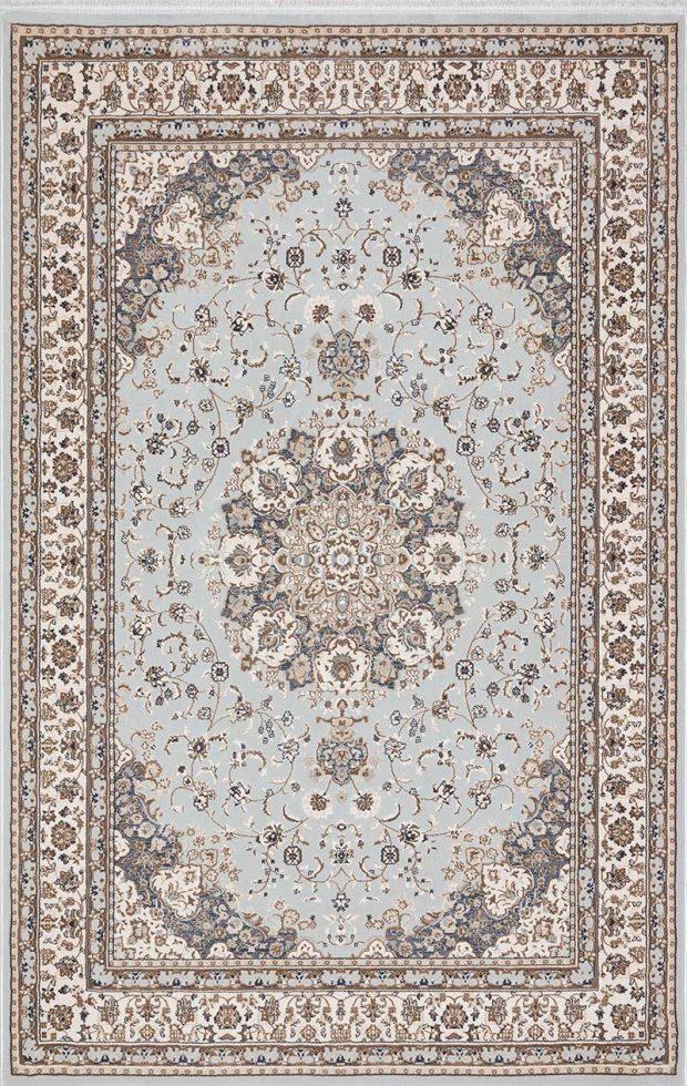 שטיח קלאסי תכלת בז׳