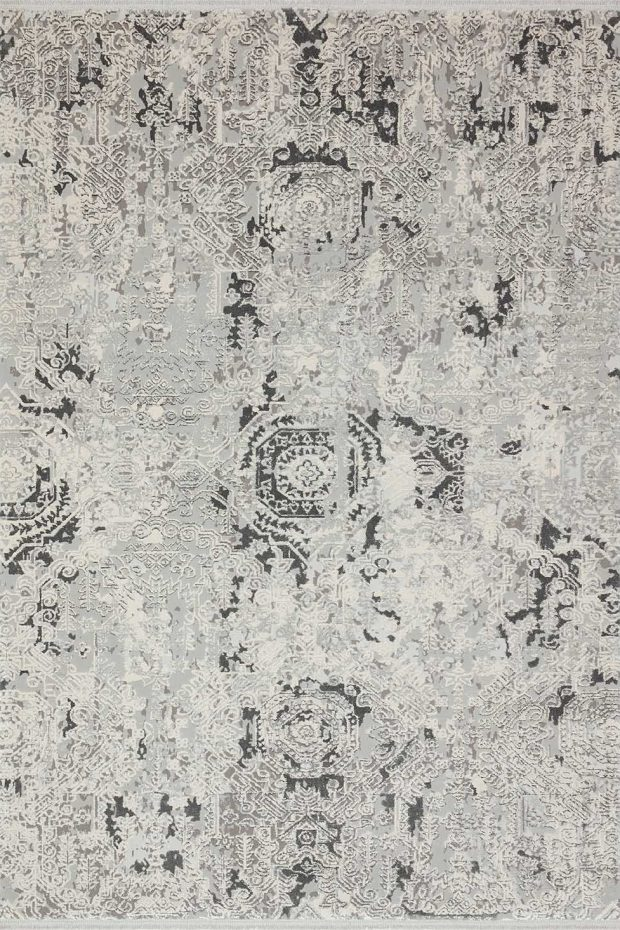שטיח מודרני אפור קלאסי
