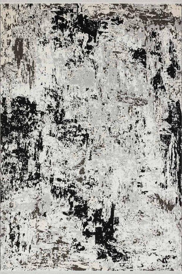 שטיח מודרני אבסטרקט שחור