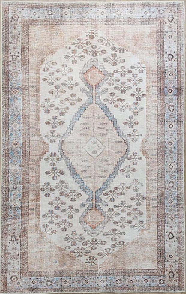 שטיח וינטג' גוון פודרה