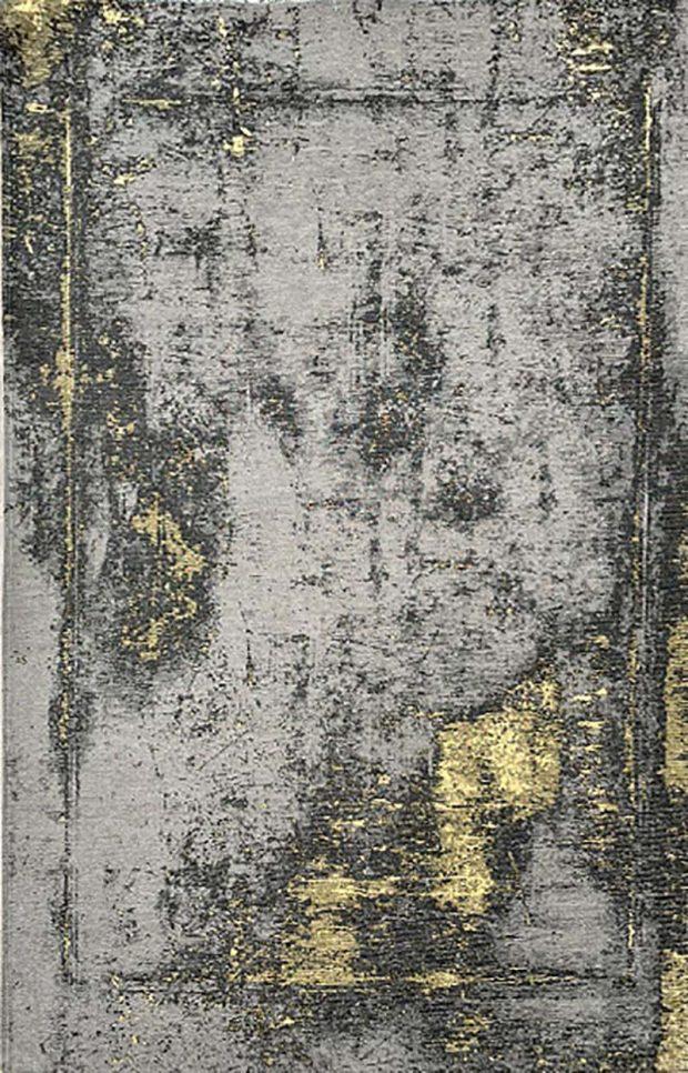 שטיח אבסטרקט אפור צהוב