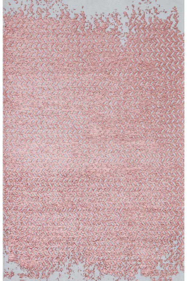 שטיח אפור ורוד