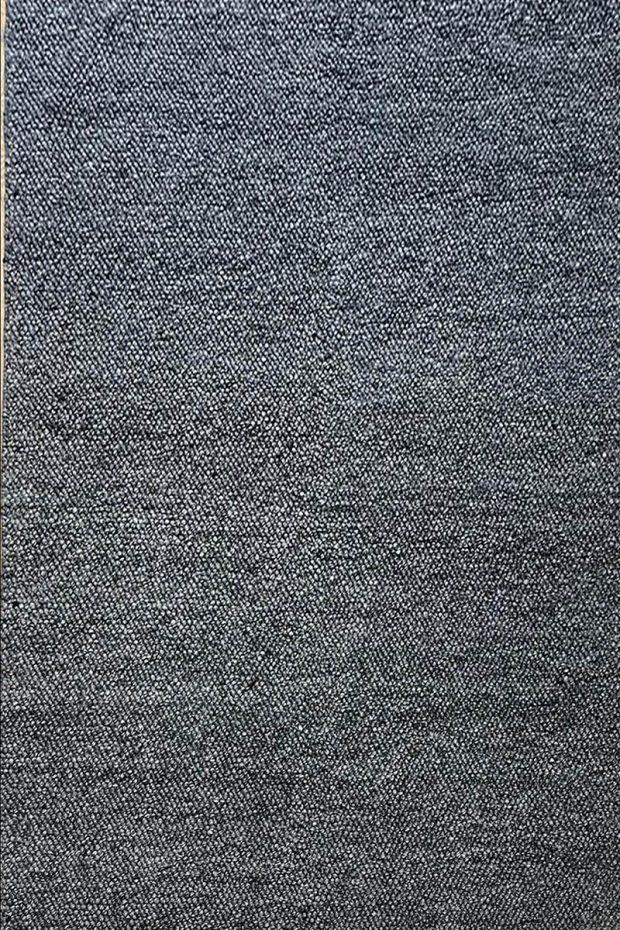 שטיח צמר אפור כהה