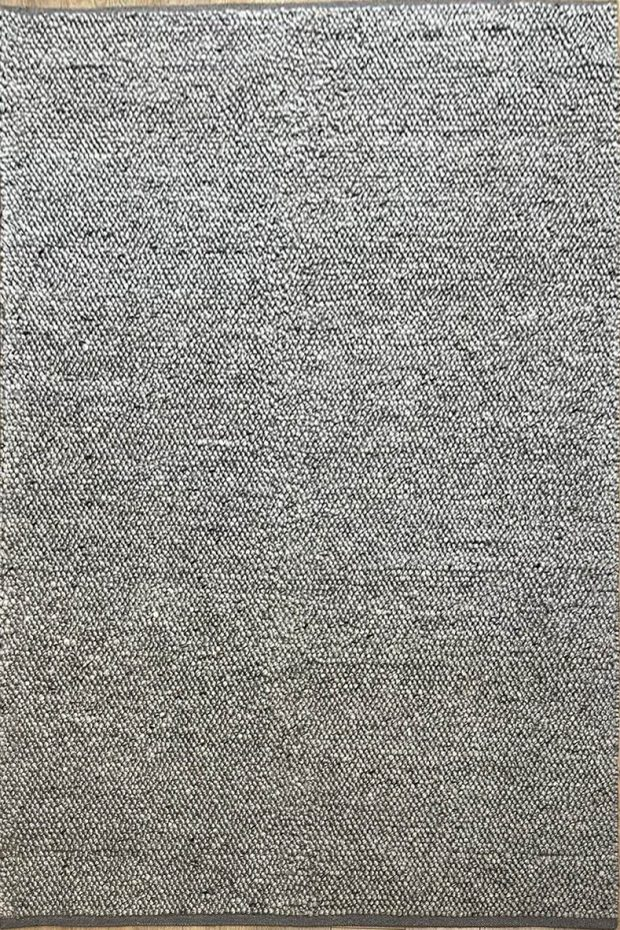שטיח צמר אפור