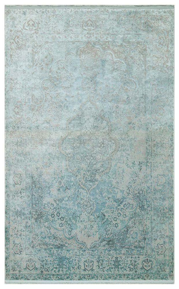 שטיח כחול ירוק אקווה