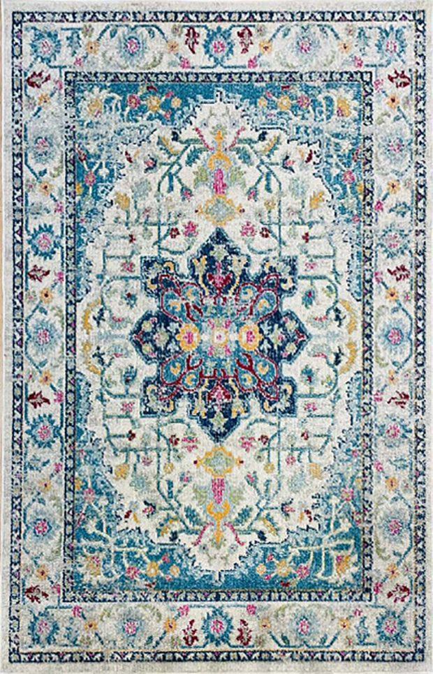 שטיח מדליון אקווה