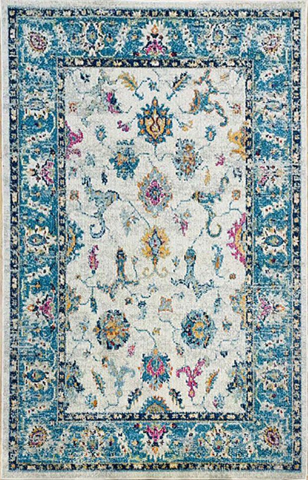 שטיח קלאסי כחול