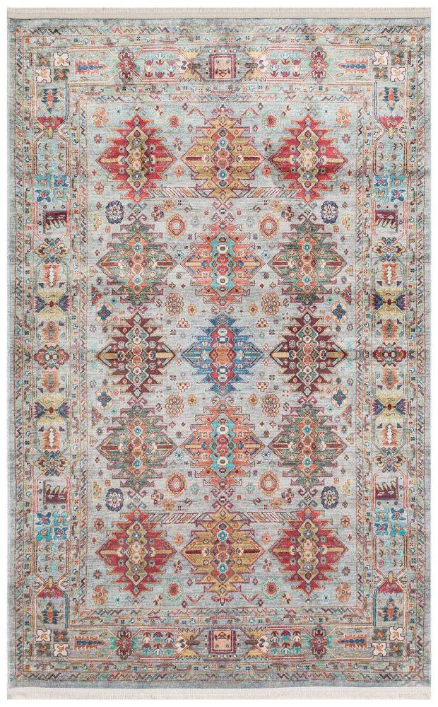 שטיח דק בדוגמא עתיקה